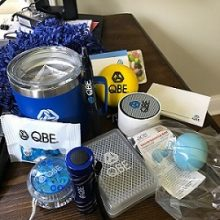 """""""To demonstrate that we are partners with our brokers... we have sent our key partners remote working care packages,"""" says Fitzgerald. (Courtesy photo)"""