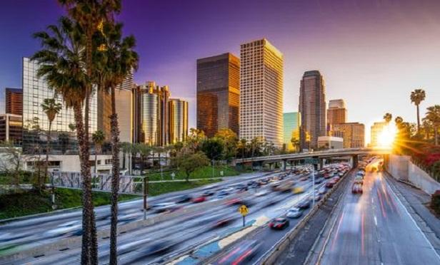 L.A. freeway.