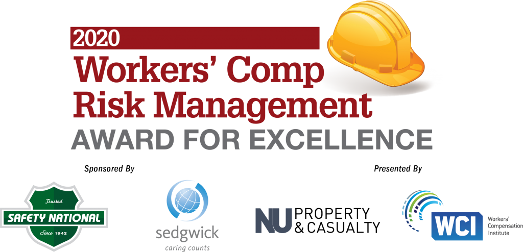 Apply now for the 2020 Excellence in Workers' Compensation Risk Management Award