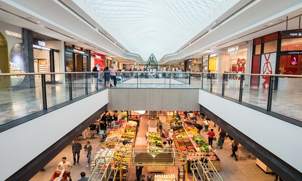 Shopping malls serve as just one example of how COVID-19 could change large retail and commercial spaces. (Shutterstock)