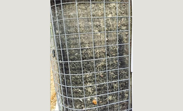 Clogged condenser coils are likely a maintenance issue, and not related to a hurricane. (Photo: HVACi)