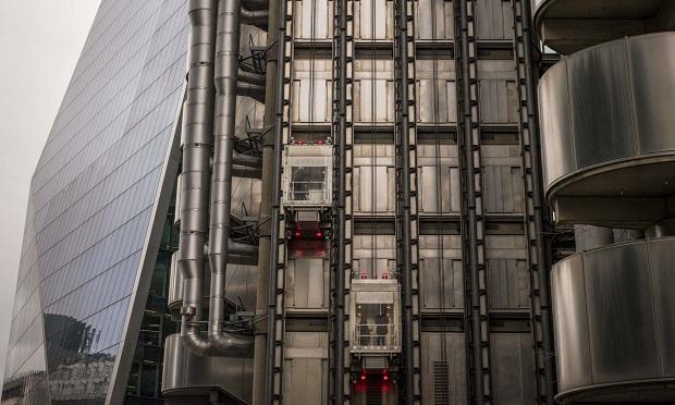 The Lloyd's of London building in London. (Photo: Jason Alden/Bloomberg)