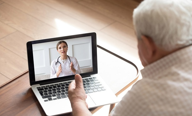 The initial months of the pandemic offered telehealth it's a big break, with consumers opting to forgo in-person care in favor of virtual visits, and insurers changing how such visits are reimbursed. But will the trend continue? (Credit: fizkes/Shutterstock)