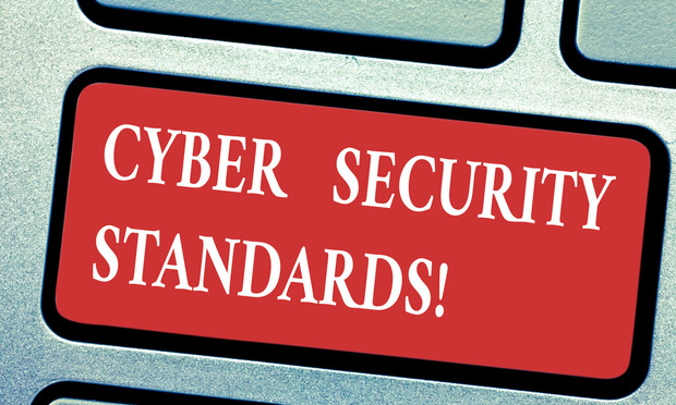 Cybersecurity-standards-white-text-red-background