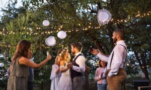 Some clients may be rightfully nervous about managing the unexpected during a backyard wedding. Insurance agents can help. (Shutterstock)