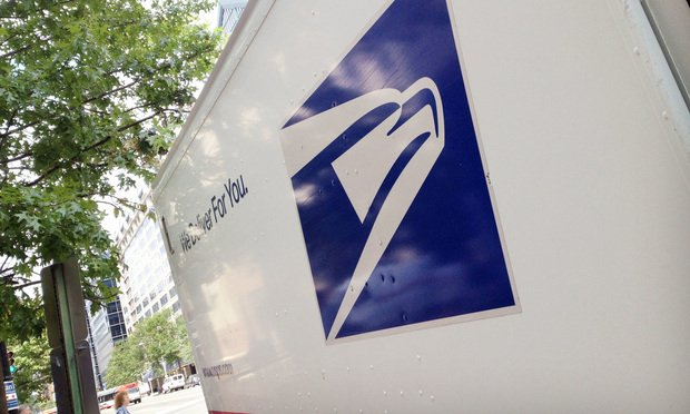 The USPS lost the insured's package while it was in transit. (Photo: Diego M. Radzinschi/ALM)