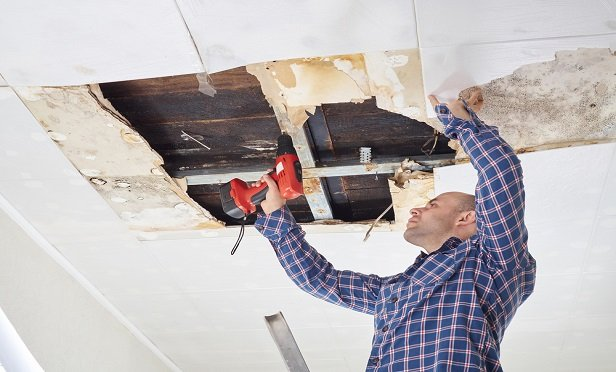 Apartments in a co-op building suffered water damage. (Photo: Shutterstock)