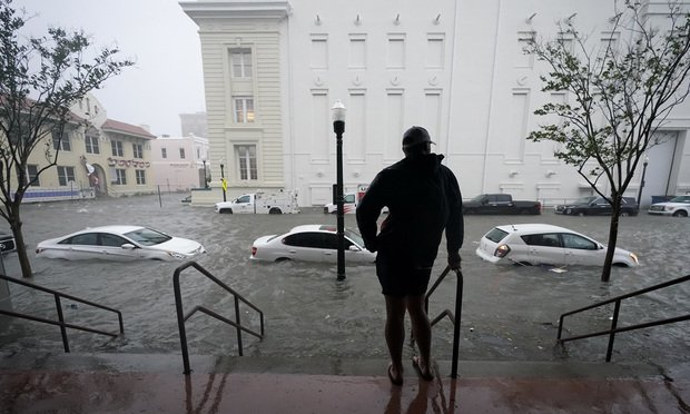 In total, climate change could expose 3.5 million existing homes with nearly $2 trillion in value to a 10% or higher risk of annual flooding by 2100, Climate Central reported. (Credit: Gerald Herbert)