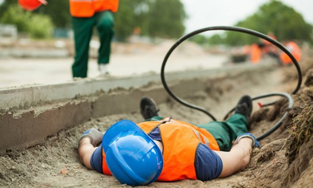 An insurance company surveillance of a laborer injured when a water main he was working on underground burst proved to be the clincher in securing a $240,000 workers' compensation settlement for plaintiff Robert Kelley. (Credit: Photographee.eu/Shutterstock.com)