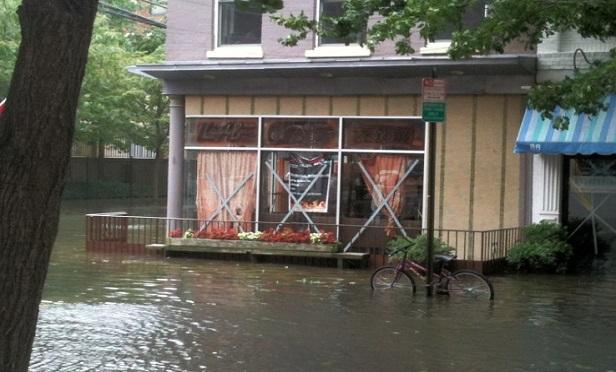 A flood (Photo: Allison Bell/ALM)
