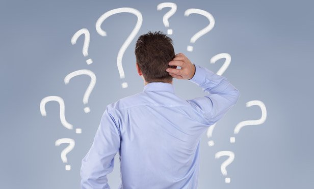 A confused man (Credit: Thinkstock)