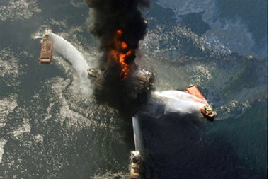 The Deepwater Horizon oil rig exploded on April 20, 2010, killing 11 workers and wreaking havoc on the Gulf Coast. (Photo: AP)