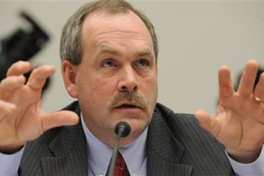 FILE: Joel Ario, head of the insurance exchange bureau of the federal Department of Health and Human Services (HHS). (AP Photo/Susan Walsh)