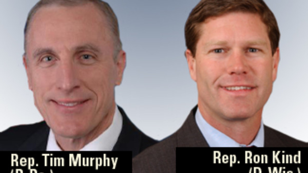 Reps. Tim Murphy and Ron Kind introduced legislation meant to ease the claim-paying process mandated by the Medicare Secondary Payer Act.