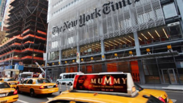 The captive owned by the Times is domiciled in New York, which unlike Vermont, does not publicize information about parent companies of captives.