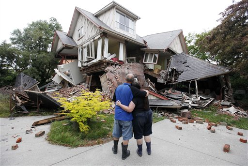 New Zealand Earthquake Feb. 2011