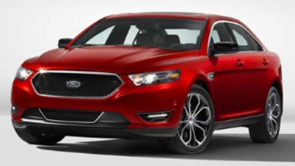 In this product image provided by the Ford Motor Co., the 2013 Ford Taurus SHO is displayed. The SHO offers 365 hp, a broad torque band, all-wheel drive, while delivering 25 EPA-rated highway mpg. (AP Photo/Ford Motor Co.)