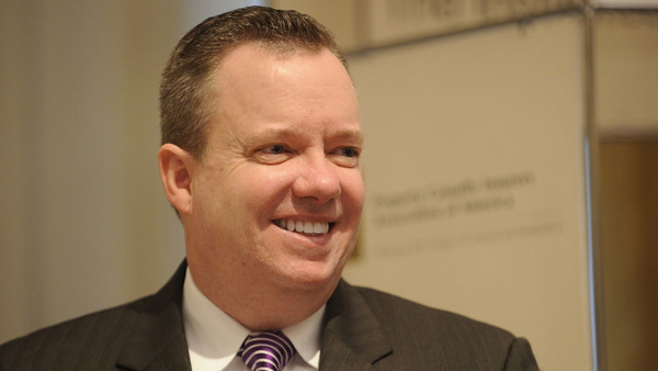 John M. Huff, director of the Missouri Department of Insurance (Photo by Don Pollard)
