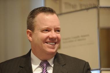 John M. Huff, director of the Missouri Department of Insurance (Photo by Don Pollard)
