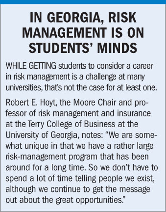Risk Management and Insurance make my newspaper