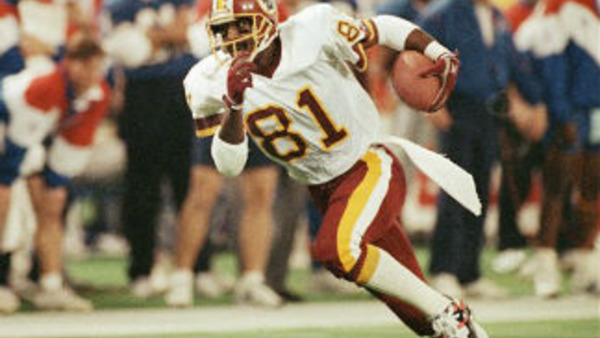 File photo of former Washington Redskins wide receiver Art Monk during Super Bowl XXVI. (AP Photo/David Longstreath)