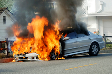 Automotive battery explosion causes of