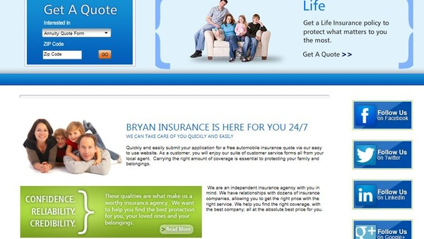 Options insurance brokers
