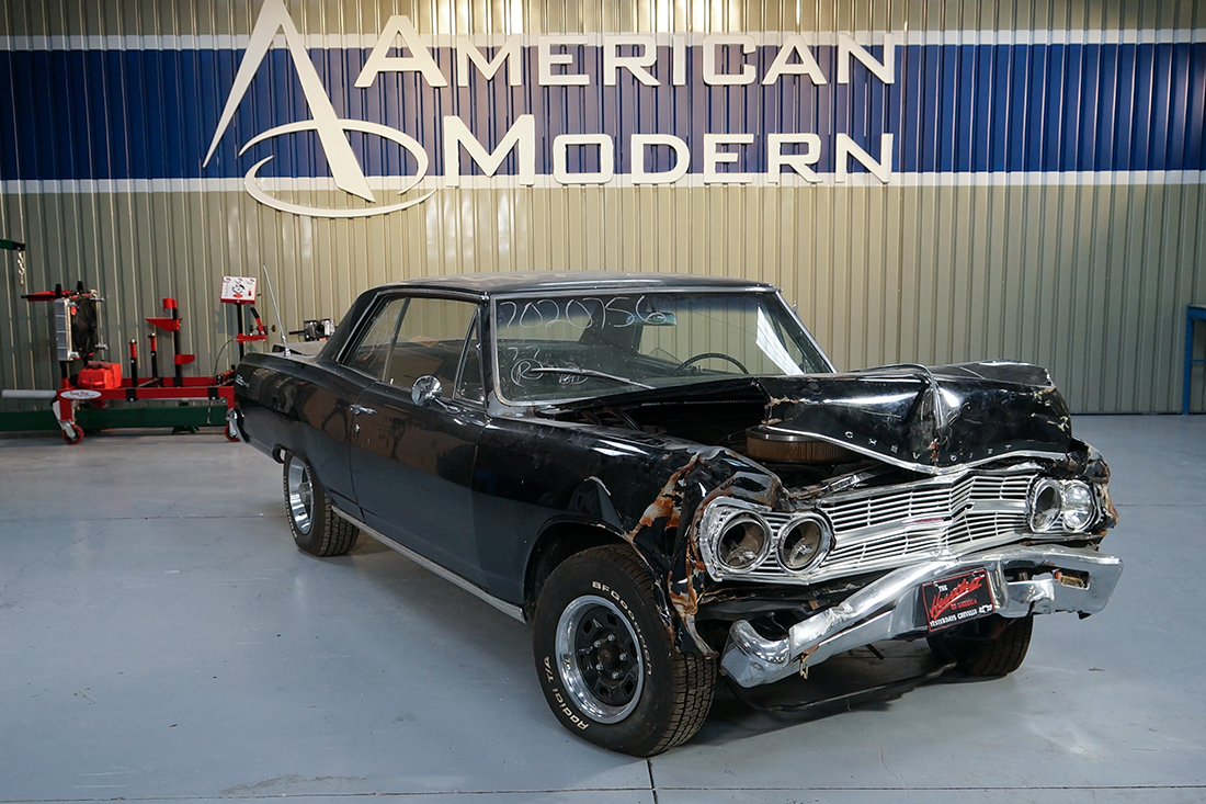 American Modern Set Out To Rebuild This Classic Hot Rod