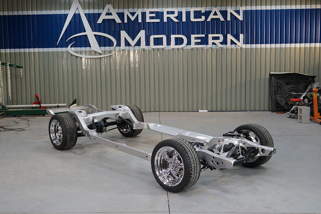American Modern set out to rebuild this classic hot rod from the ...