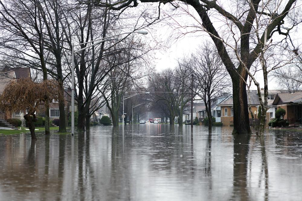 neighborhood flood