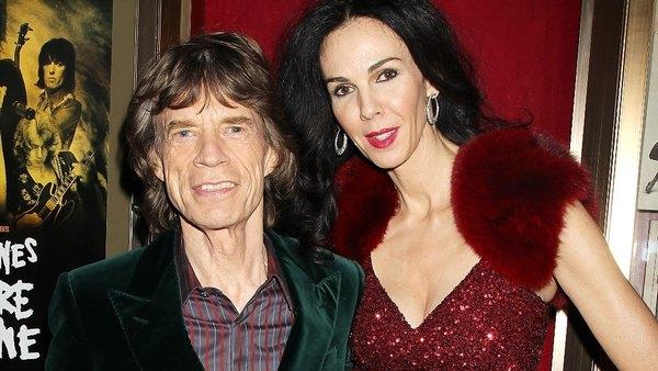 Mick Jagger and fashion designer L'Wren Scott in 2012. (AP Photo/Starpix, Dave Allocca)