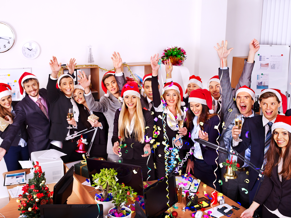 company holiday parties can be great for morale