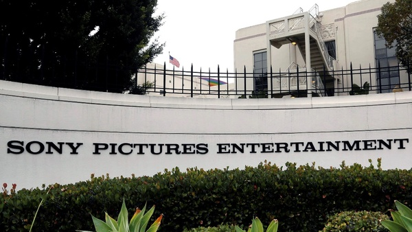 Sony Pictures Entertainment headquarters in Culver City, Calif. (AP Photo/Nick Ut)