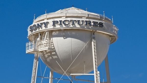 Sony Pictures Studios in Culver City, Calif.