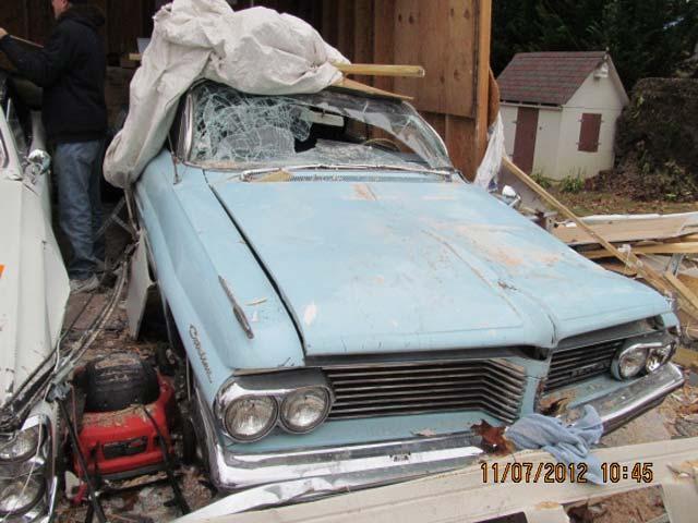car damaged in Superstorm Sandy