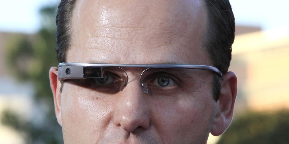 Google Glass for adjusting