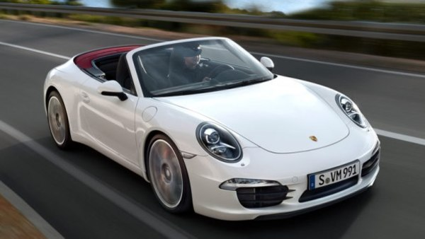 Where do you think this Porsche 911 Carrera S Cabriolet ranks on the list of most expensive 2015 model year cars to insure?