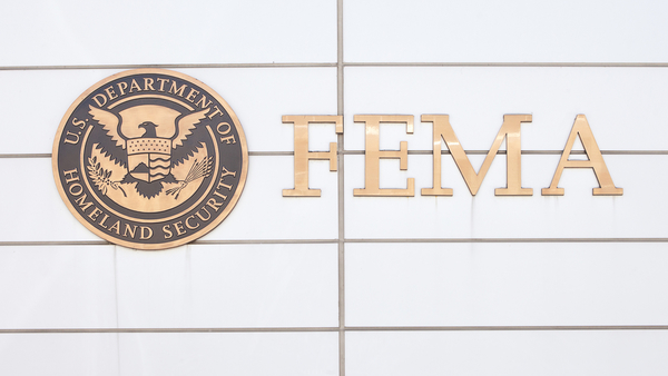 Sign in front of the Federal Emergency Management Agency Headquarters in Washington, D.C. (Mark Van Scyoc/Shutterstock.com)