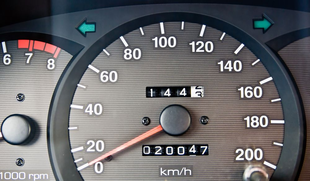 car mileage and odometer
