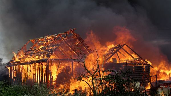 Many people don't realize that they face serious wildfire danger. (Photo: Shutterstock)