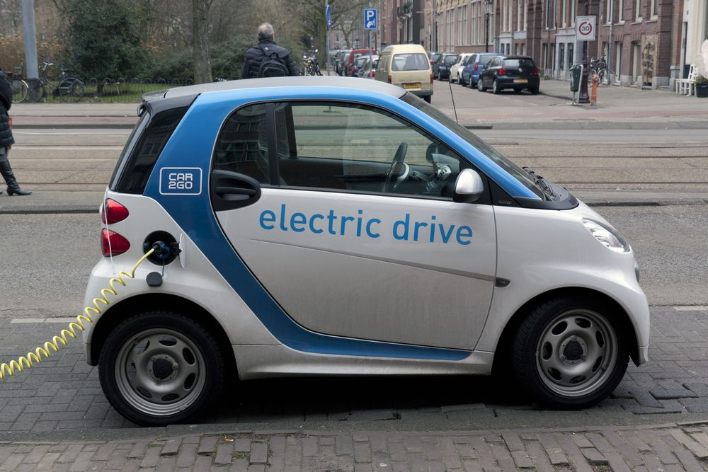 small electronic car