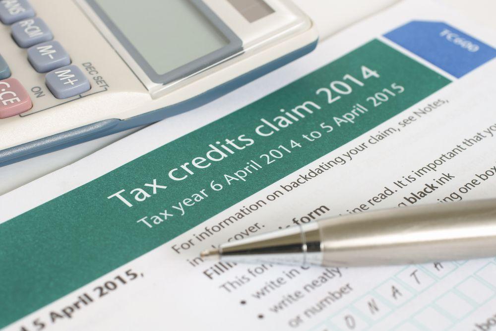 tax credits worksheet