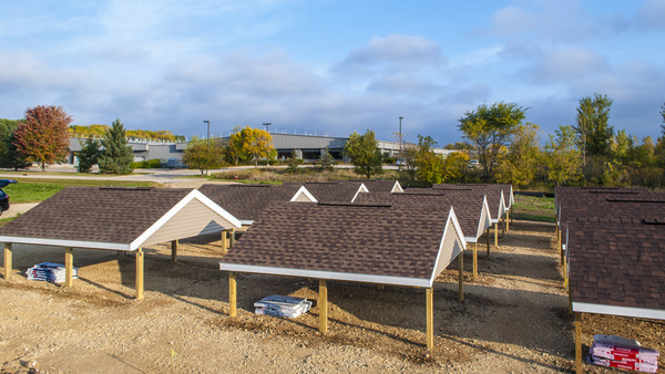 American Family Insurance Aging Roof Research Farm Located In Madison,  Wisconsin. (Courtesy Of