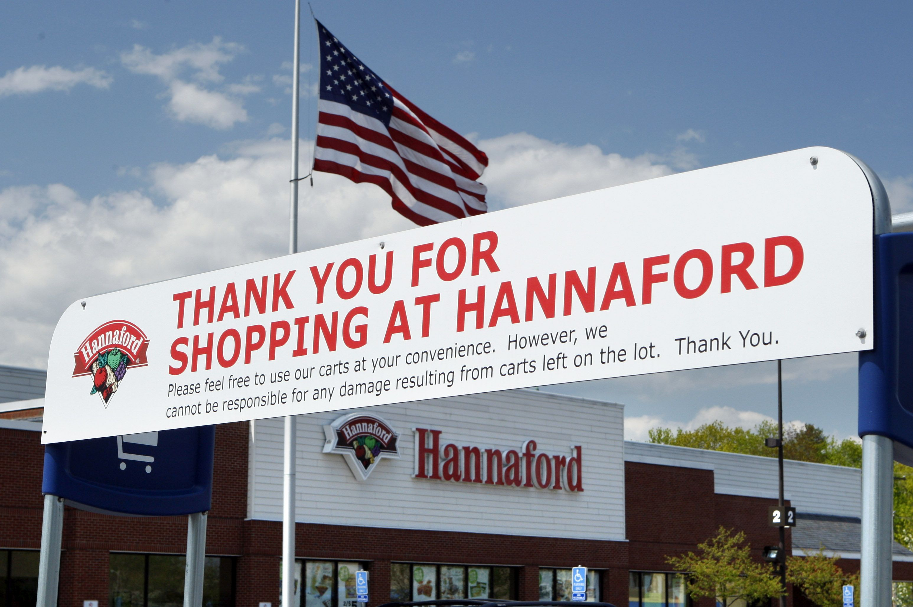 Hannaford grocery store in Topsham, Maine