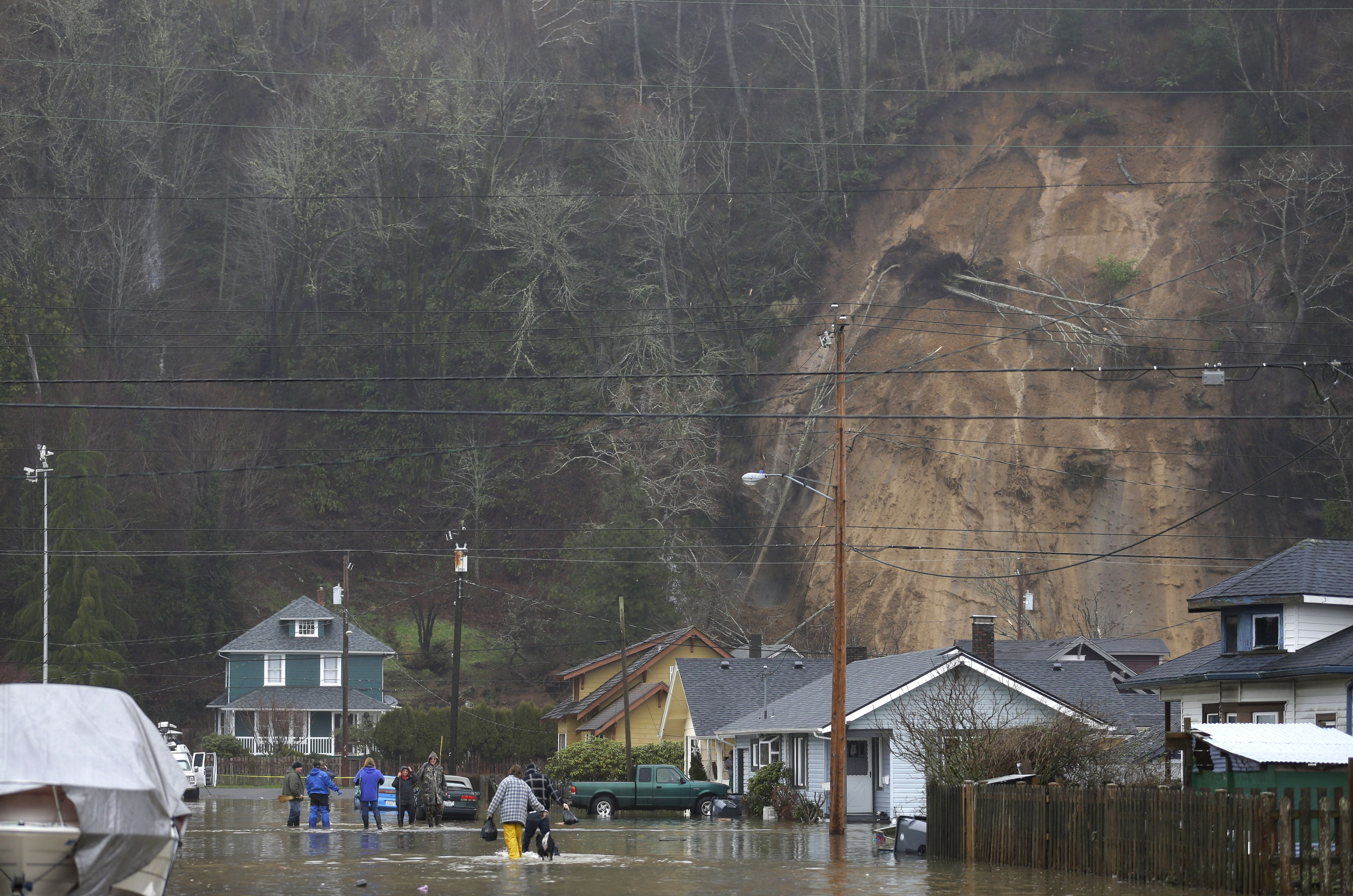 Hoquiam, Wash. landslide
