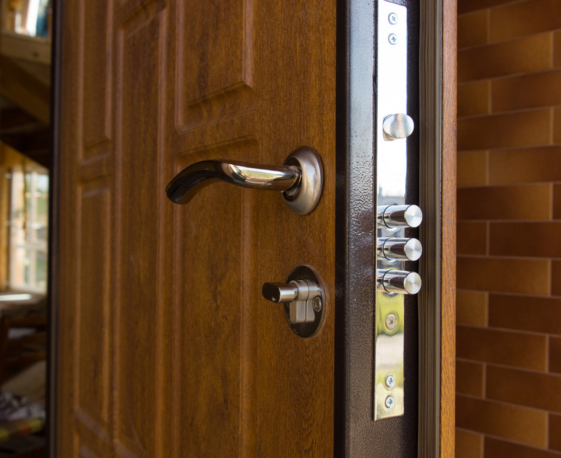 New-entry-door-with-3-deadbolt-lock-crop- & 6 ways to tornado-proof your home | PropertyCasualty360 pezcame.com