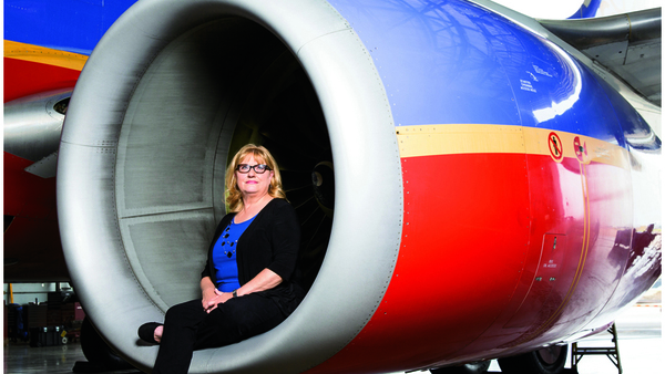 Southwest Airlines Workers' Compensation Program Manager Patti Colwell.