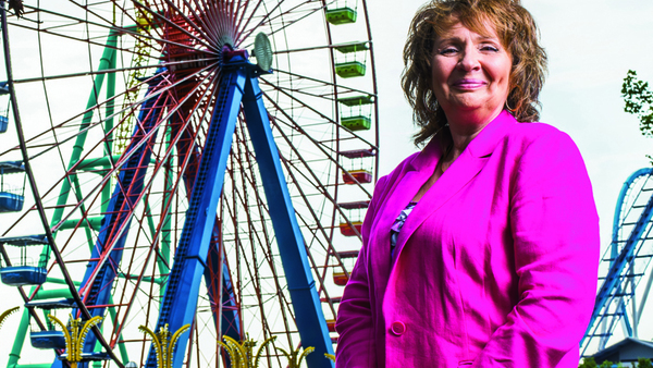 Kathy Hawkinson, Cedar Fair Entertainment Co.'s corporate director of safety.