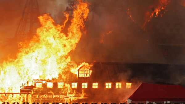 Too often, struggling business owners see arson as the answer to their financial problems. Photo: Vasily Smirnov/Shutterstock