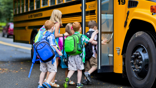 Back-to-school season signals an influx of school bus accidents and more claims for adjusters. Photo: Stuart Monk/Shutterstock